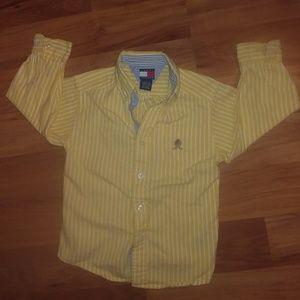 NWOT Tommy Hilfiger boys button up shirt 5